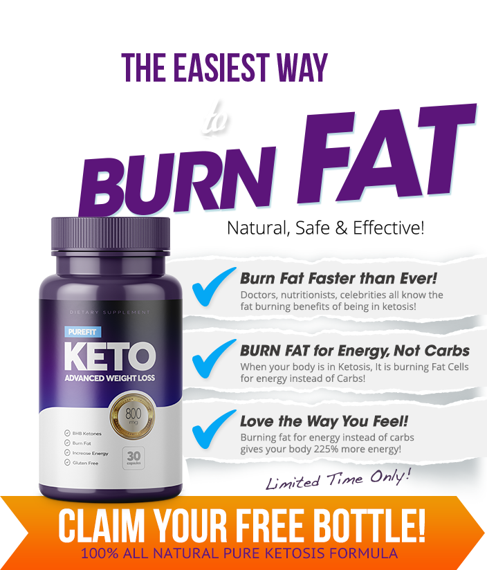 Purefit KETO with BHB is here to stay because of the unsurmountable success people are having losing up to 1lb of fat per day!