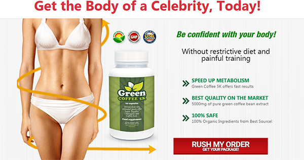 Green Coffee 5k No 1 Weight Loss Product