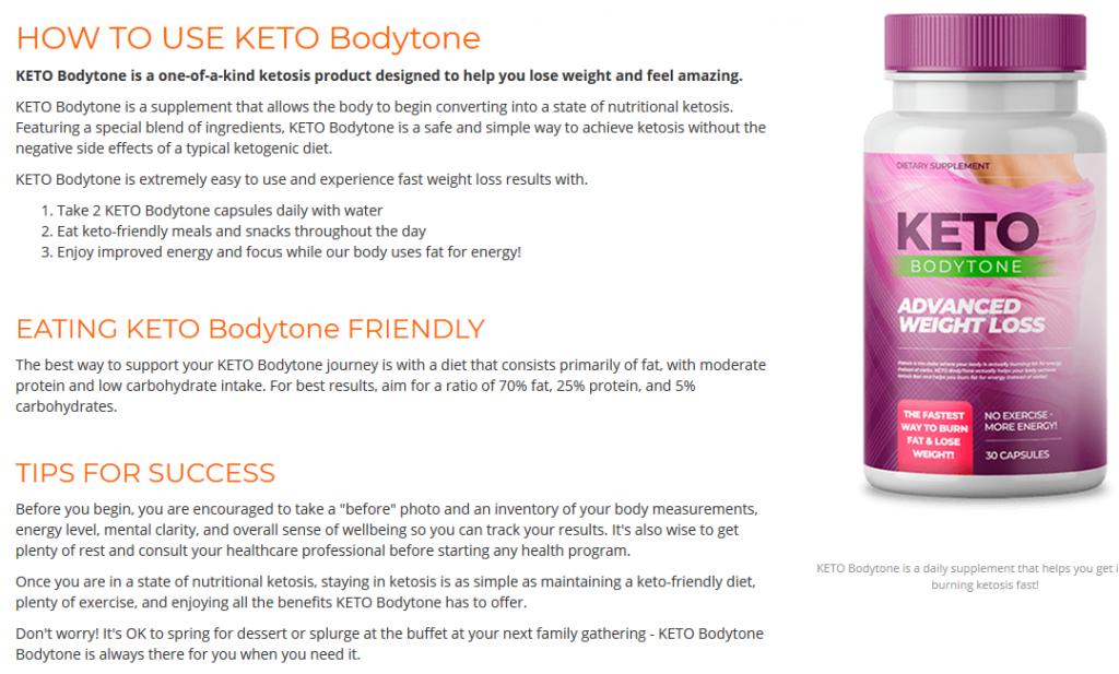 Keto Bodytone Supplement Beauty