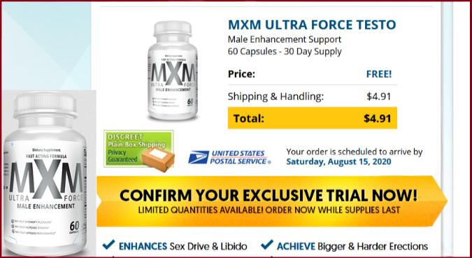 MXM Ultra Force Pills