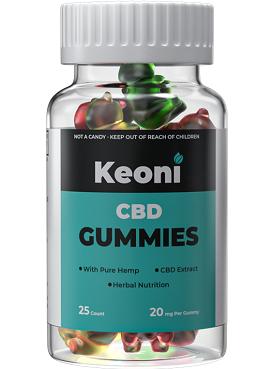 Keoni CBD Gummies Cost